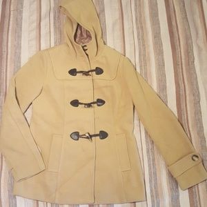 Forever 21 Pea Coat with hood